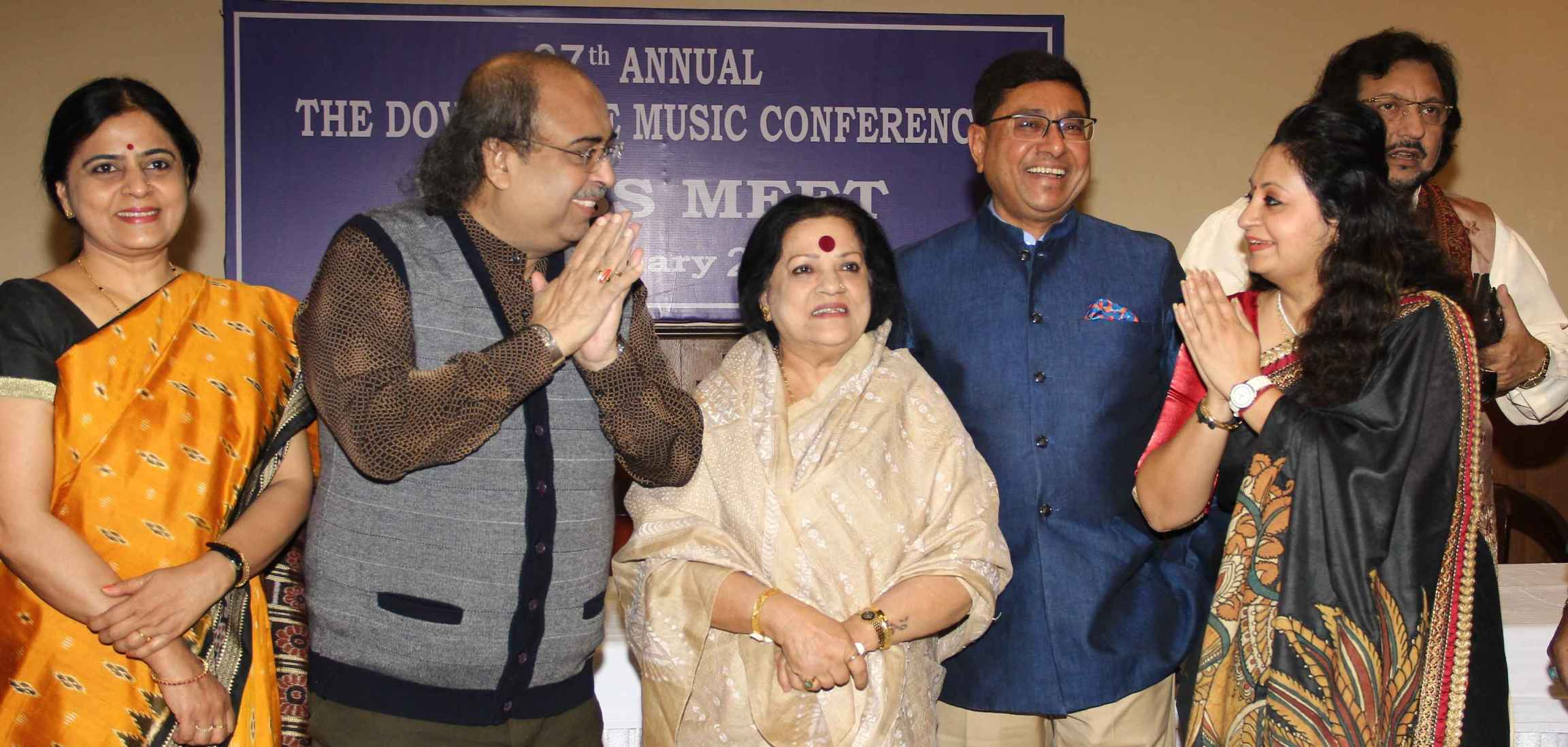 Press Meet of Dover Lane Music Conference