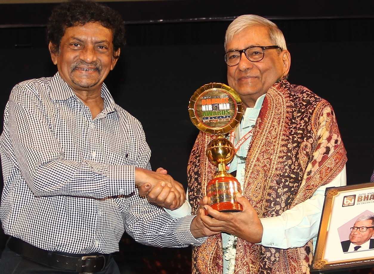 Lifetime Achievement Award from film director Sri Goutam Ghose