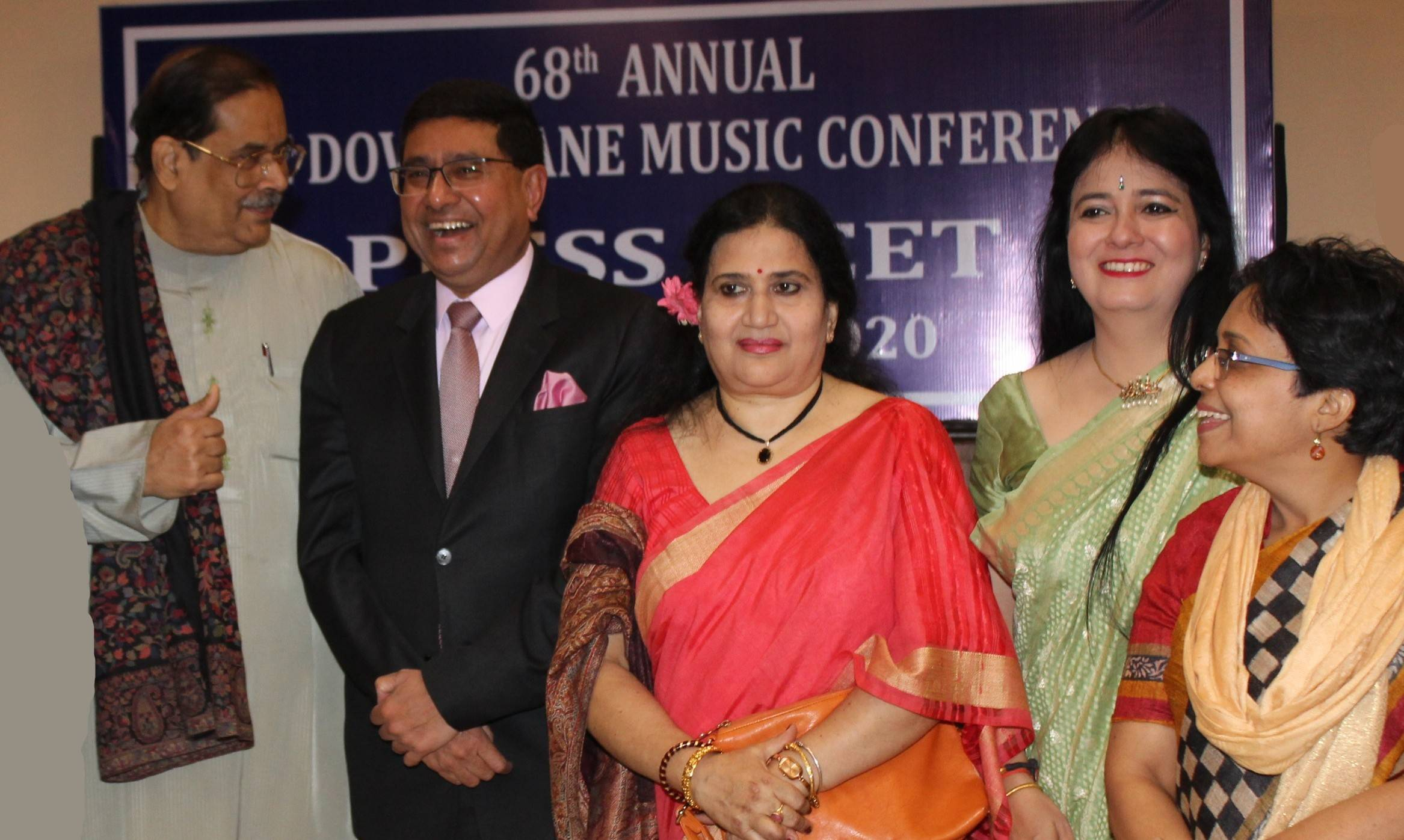 Sanjay Budhia at the 68th Dover Lane Music Conference Press Meet