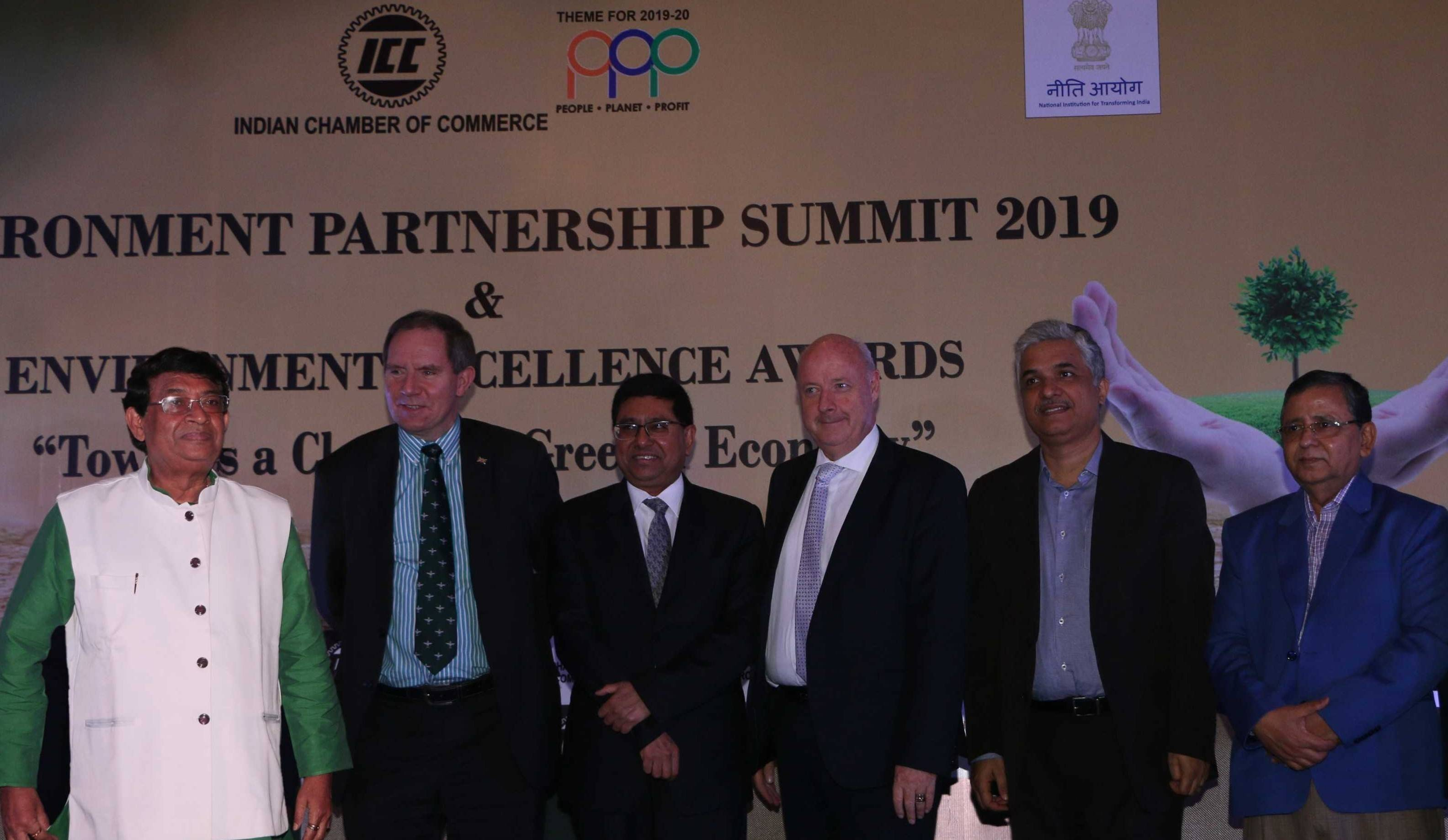 Sanjay Budhia at the ICC Environment Partnership Summit