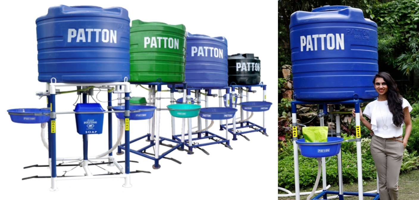 Safety 360: Patton launches Contactless Safe Hand Wash Station to Combat COVID-19
