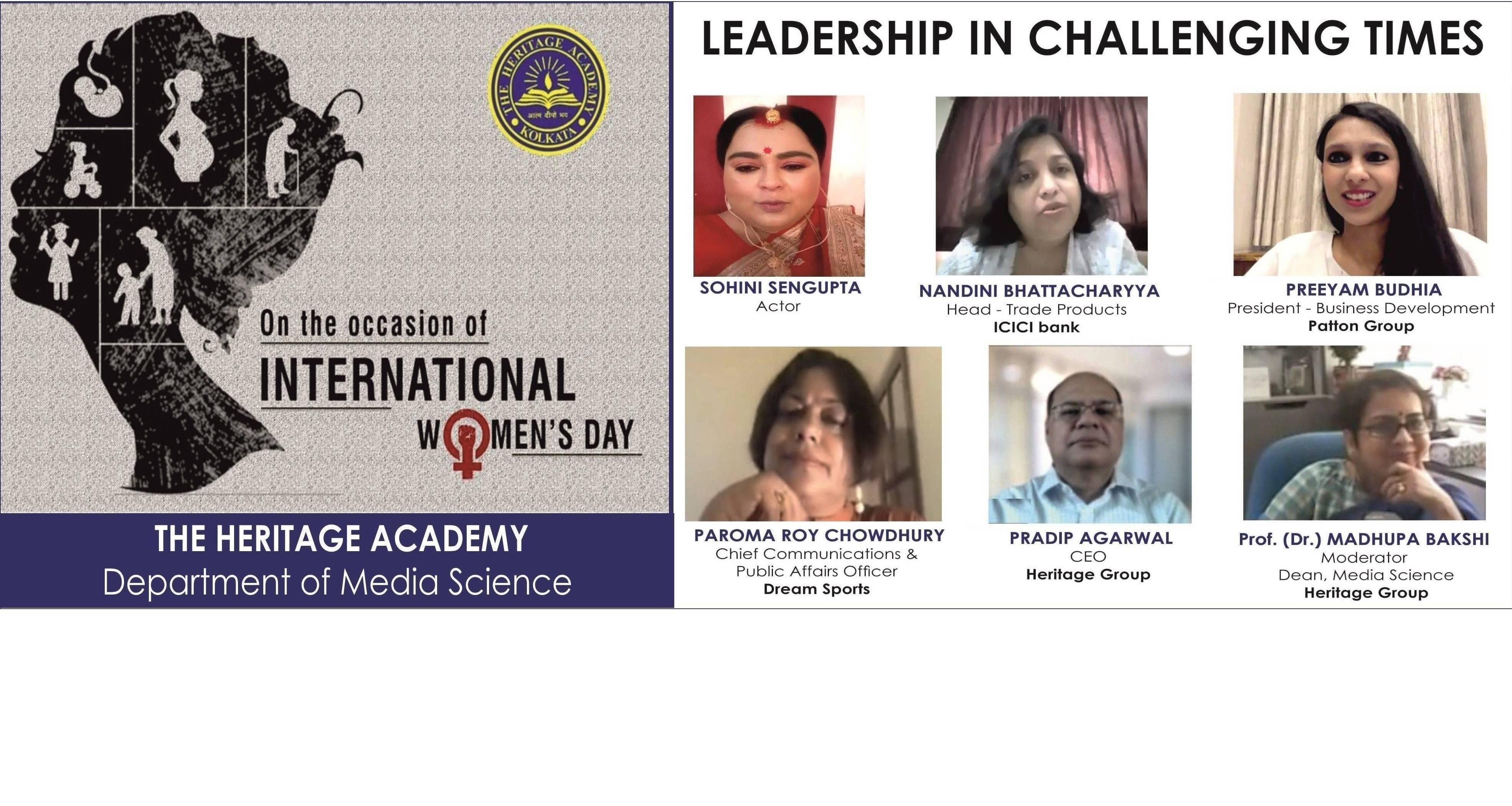 Preeyam Budhia Speaking on 'Leadership in Challenging Times'