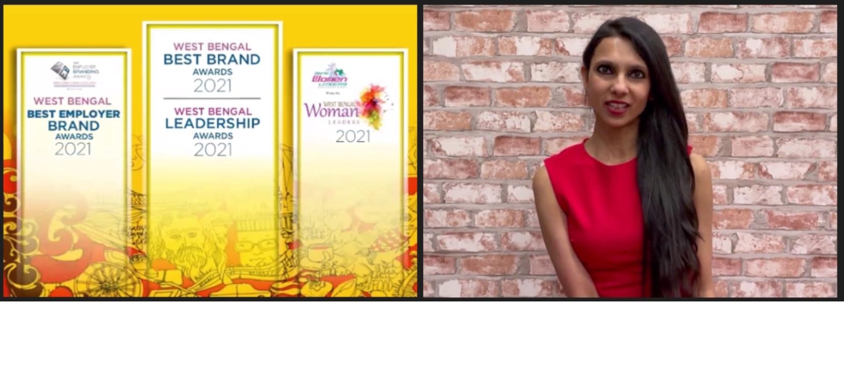 Preeyam Budhia Awarded the CMO Asia Woman Leadership Award 2021